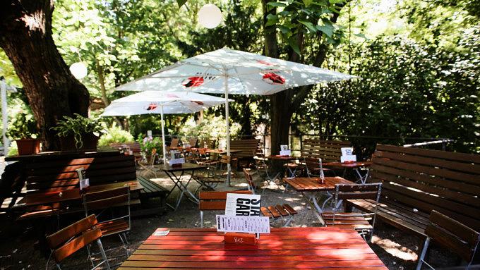 Blücherpark Biergarten