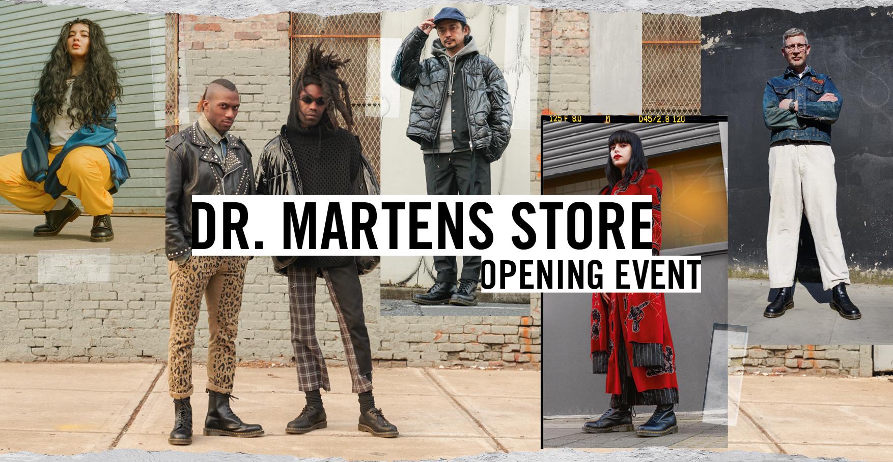 low priced usa cheap sale special section Dr. Martens Store Opening – der Kultschuh kommt nach Köln ...