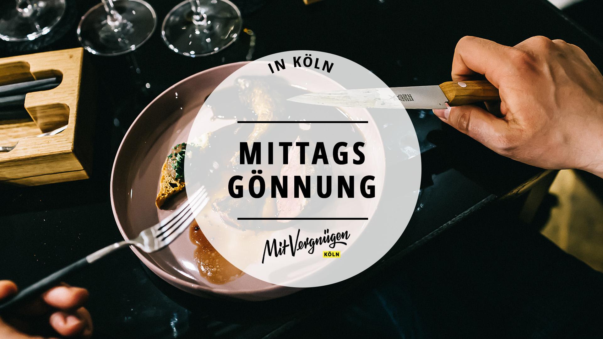 18 gehobene Restaurants in Köln, die du dir mittags leisten kannst