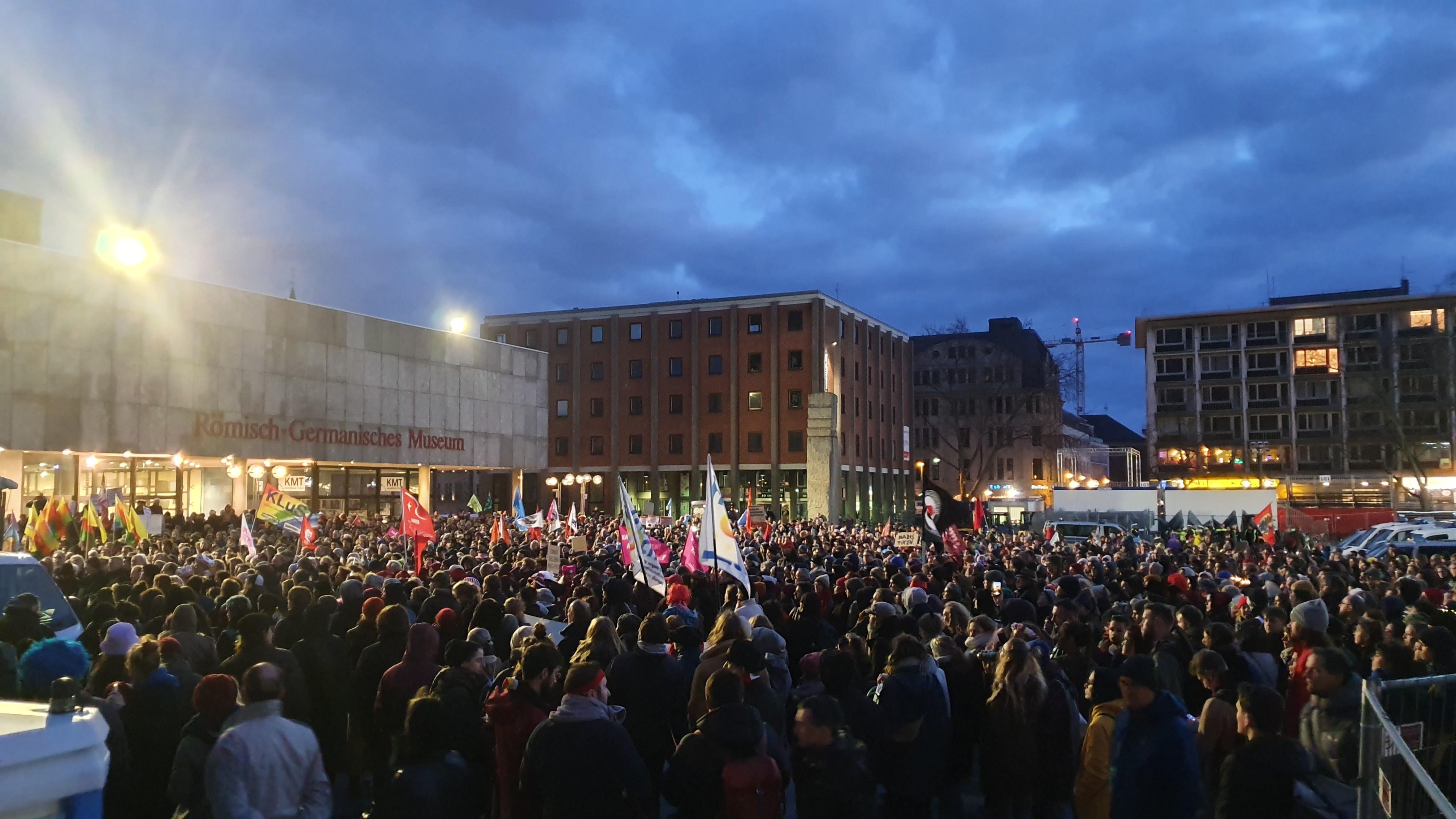 Demo In Köln Gestern