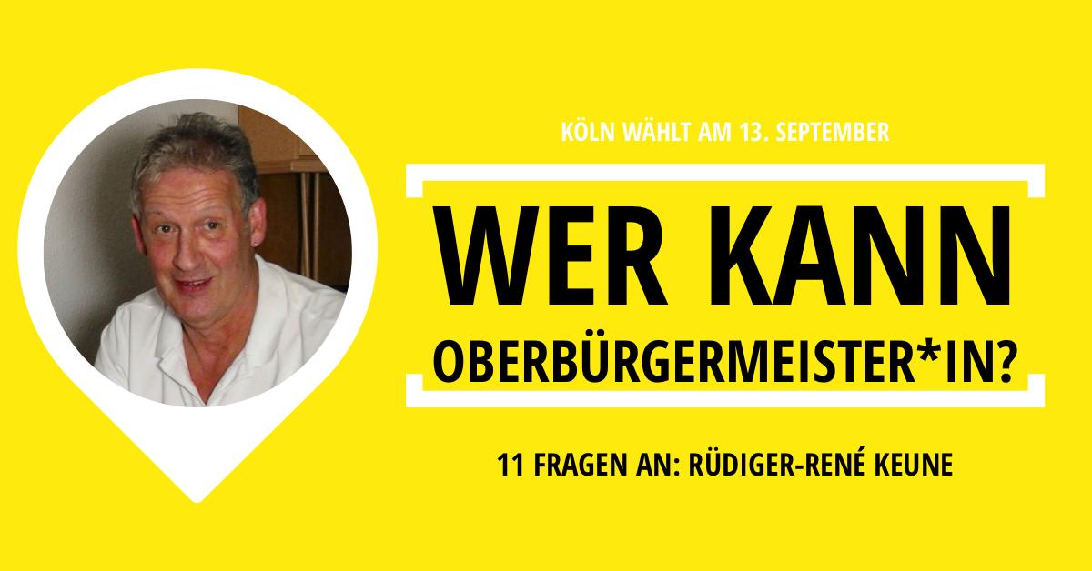 Ob Kandidat Köln